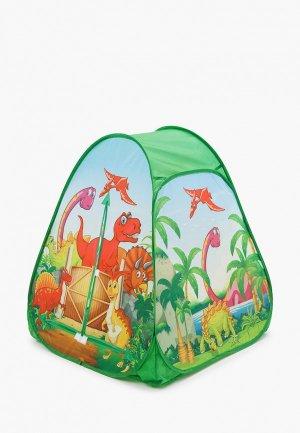 Палатка Играем Вместе 81х90х81 см.. Цвет: разноцветный