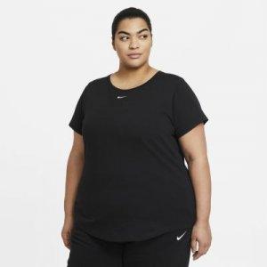 Женская футболка Nike Sportswear (большие размеры) - Черный