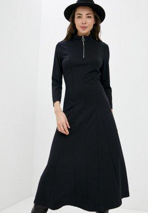 Платье InWear. Цвет: синий