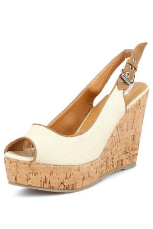 Sandalette Gardini. Цвет: beige