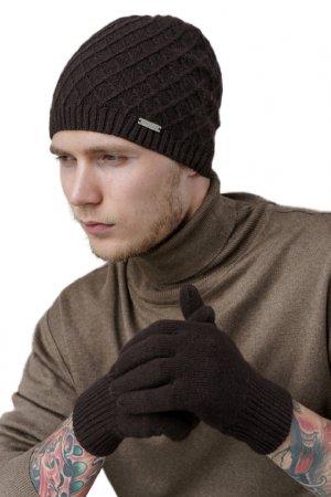 Перчатки JOHN TRIGGER. Цвет: темно-коричневый