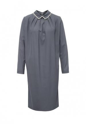 Платье Levall. Цвет: серый