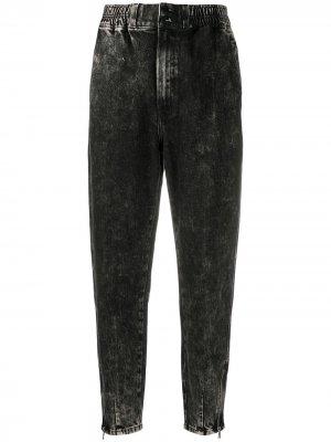 Зауженные джинсы средней посадки J Brand. Цвет: черный