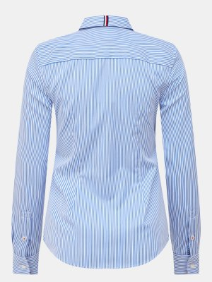 Рубашка Tommy Hilfiger. Цвет: goluboy