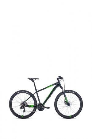 Вело Forward. Цвет: черный матовый/ярко-зеленый