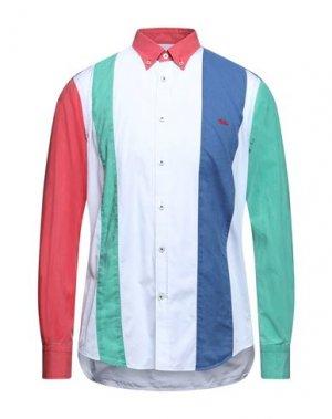 Pубашка HARMONT&BLAINE. Цвет: синий