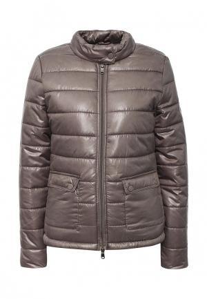 Куртка утепленная Frank NY. Цвет: бежевый