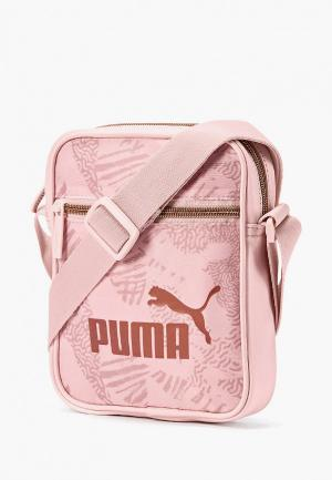 Сумка PUMA WMN Core Up Portable. Цвет: розовый