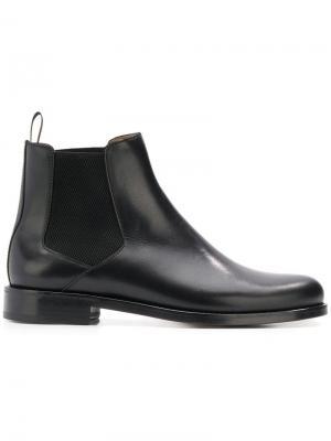 Классические ботинки челси A.P.C.. Цвет: черный