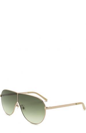 Солнцезащитные очки 3.1 Phillip Lim. Цвет: зелёный