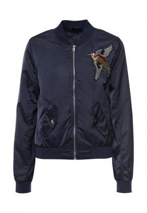Куртка B.Style. Цвет: синий