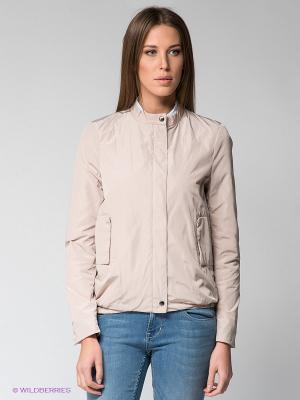 Куртка Calvin Klein. Цвет: светло-бежевый