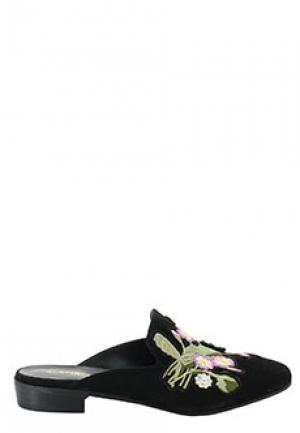 Сабо ELENA IACHI. Цвет: черный