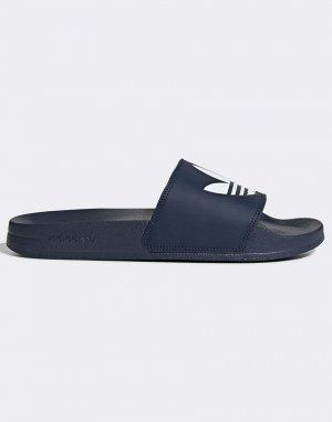 Темно-синие шлепанцы Аdilette Lite-Темно-синий adidas Originals