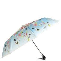 Зонт полуавтомат 1129 голубой JEAN PAUL GAULTIER