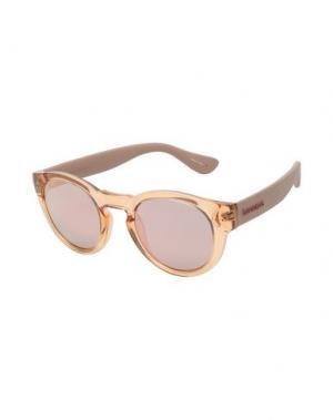 Солнечные очки HAVAIANAS. Цвет: лососево-розовый