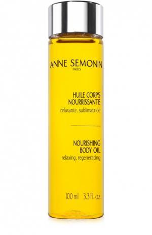 Питательное масло для тела Anne Semonin. Цвет: бесцветный
