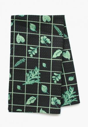 Полотенце кухонное Bonita. Цвет: черный