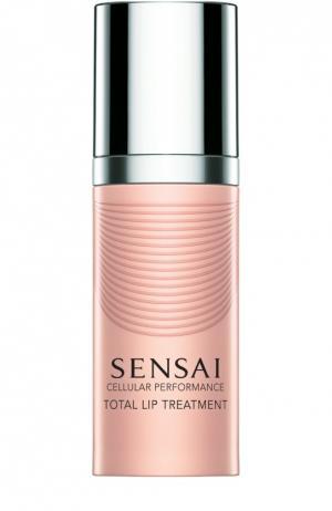 Восстанавливающий крем для губ Sensai. Цвет: бесцветный