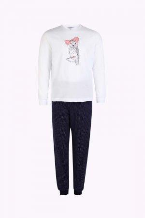 Пижама baon. Цвет: белый