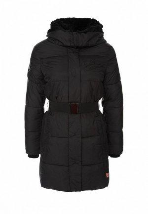 Куртка утепленная Lonsdale LO789EWEB938. Цвет: черный