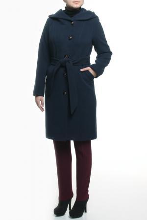 Пальто Elegant Ledy. Цвет: синий