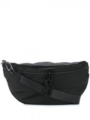 Спортивная сумка Attica Alexander Wang. Цвет: черный