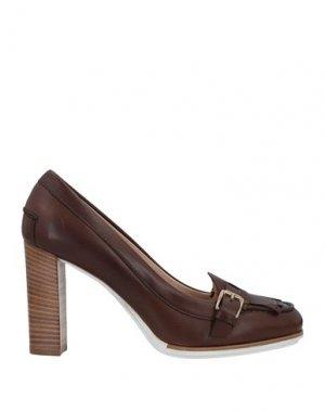 Туфли TOD'S. Цвет: коричневый