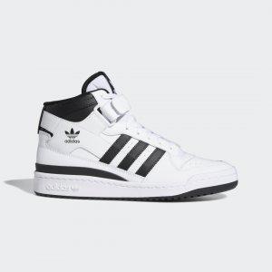 Кроссовки Forum Mid Originals adidas. Цвет: черный