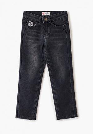 Джинсы Button Blue. Цвет: черный