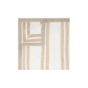Хлопковое полотенце Brunello Cucinelli. Цвет: бежевый