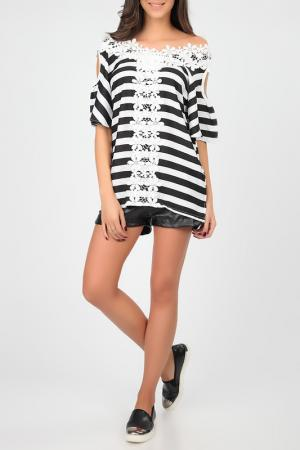 Блуза Cocogio. Цвет: белый