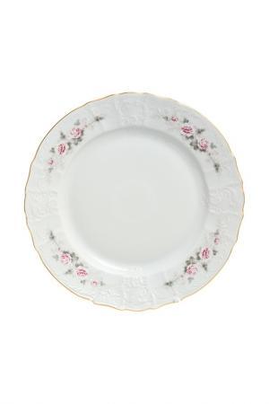 Блюдо BERNADOTTE. Цвет: белый