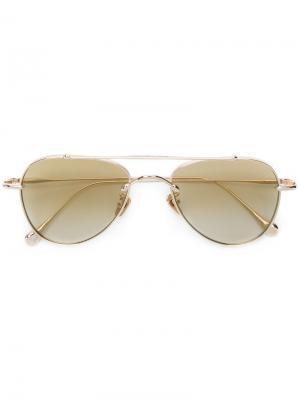 Солнцезащитные очки Egoistic Sunday III Frency & Mercury. Цвет: золотистый