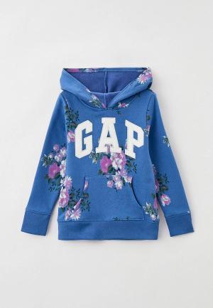 Худи Gap. Цвет: голубой