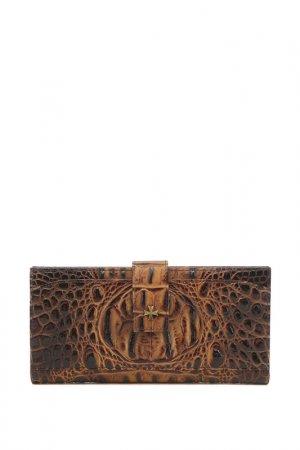 Бумажник Narvin. Цвет: оливковый
