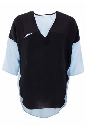 Блуза Costume National. Цвет: голубой