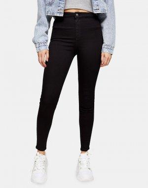 Черные джинсы из прочного денима Joni-Черный цвет Topshop