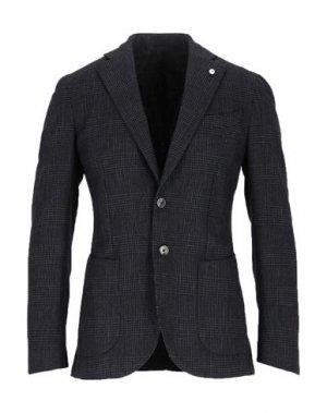Пиджак BRANDO. Цвет: черный