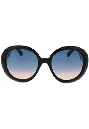 Очки GUCCI sunglasses. Цвет: черный