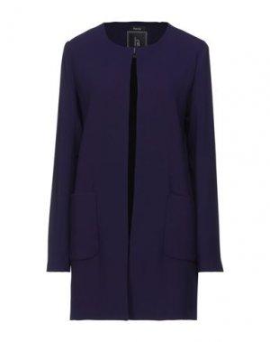 Легкое пальто HANITA. Цвет: темно-фиолетовый