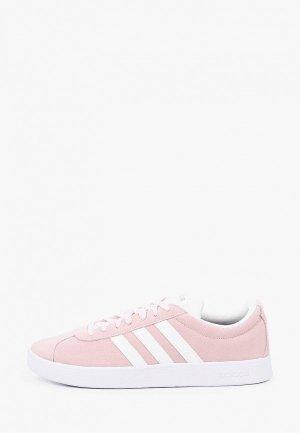 Кеды adidas VL COURT 2.0. Цвет: розовый