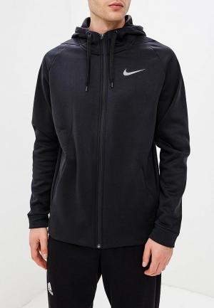 Толстовка Nike THERMA MENS FULL-ZIP TRAINING HOODIE. Цвет: черный