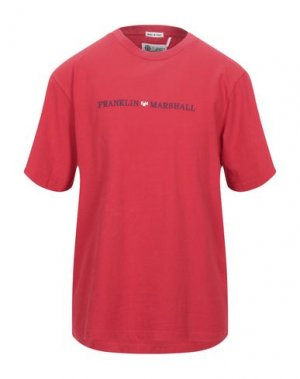 Футболка FRANKLIN & MARSHALL. Цвет: красный