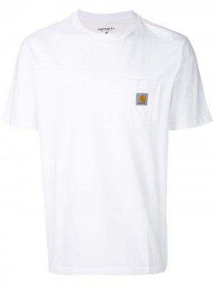 Chest pocket T-shirt Carhartt. Цвет: белый