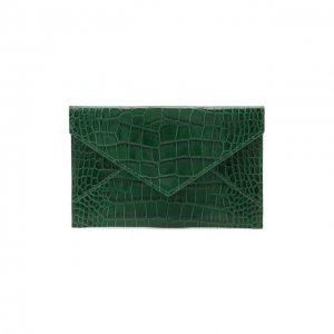 Кожаный футляр для документов Ralph Lauren. Цвет: зелёный