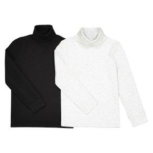 Комплект из тонких пуловеров La Redoute. Цвет: серый