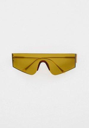 Очки солнцезащитные Bocciolo. Цвет: хаки
