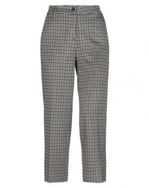Повседневные брюки VIA MASINI 80. Цвет: черный