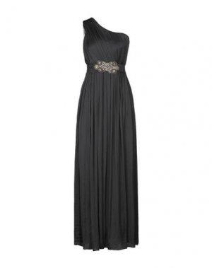 Длинное платье TRASH & LUXURY. Цвет: черный